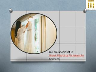 Wedding Photographer in Greek and Greece