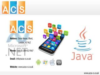 Online training application, CMS Web Development