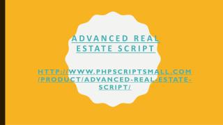 Realestate Website Software