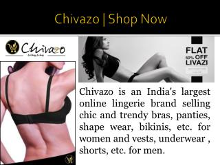 Bra Panty online shopping in india By Chivazo