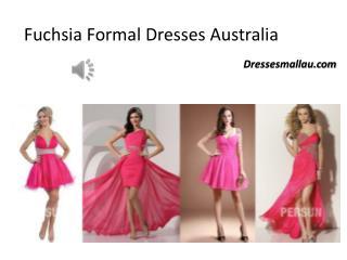 New styling: Fuchsia Formal Dresses Australia