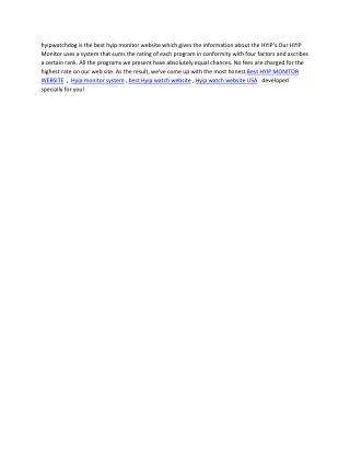 HYIP Watchdog - Genuine HYIP Monitor Site | hyip watchdog | hyip