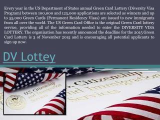 Diversity Lottery