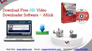 High Definition Video Downloader Software - AKick