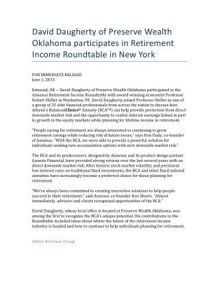 David Daugherty Oklahoma Financial Professional