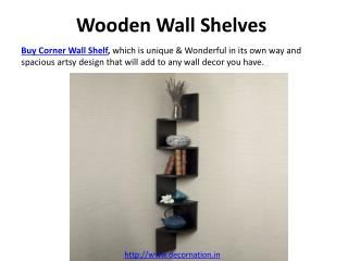 buy wall shelves online in india at decornation.in