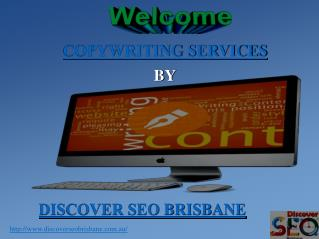 Copywriting Services | Discover SEO Brisbane