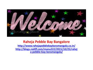 Raheja Pebble Bay