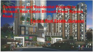 Residential And Commercial Real Estate Trends in Bhiwadi Alwar Bypass Road
