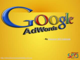 Google Adword Services offer by Discover SEO Adelaide