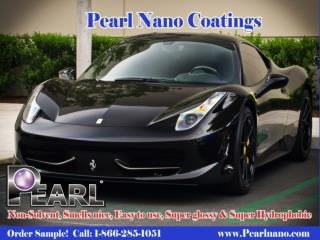The Scratch Resistant Pearl Nano Coatings
