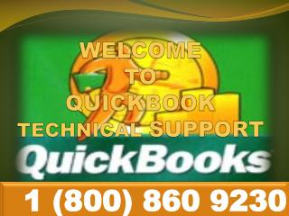 QuickBooks customer Support\Service @ 1-800-860-9230
