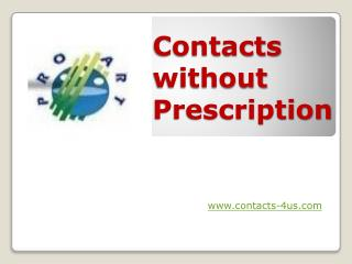 Buy Contacts Without Prescription - www.contacts-4us.com
