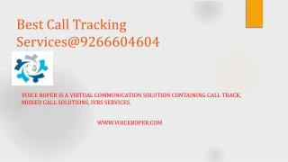 Best Call Tracking Services