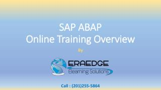 SAP ABAP Online Training Overview & Course Content