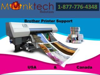 Brother Support Number @ 1-877-776-4348 tech Help