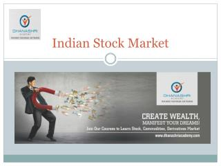 What is Indian Stock Exchange?