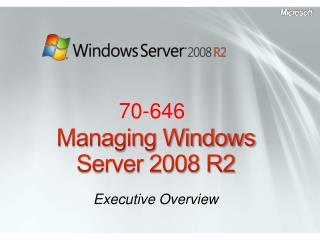 Pass4sure 70-646 Windows Server 2008, Server Administrator