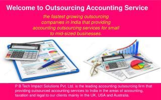 Outsourcing Accounting Services To India