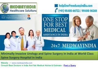 Best Hospital For Spine Surgery in India