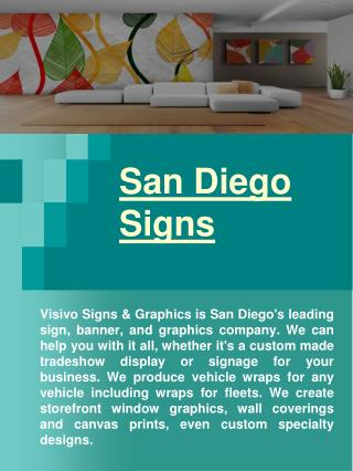 Vehicle Wraps San Diego