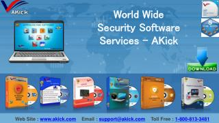 Globally Leading Security Software Services - AKick
