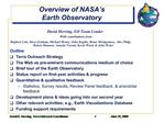 Overview of NASA s Earth Observatory