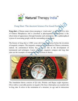 Feng Shui Consultants in India | Feng Shui Services
