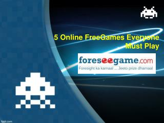 5 online free games everyone must play