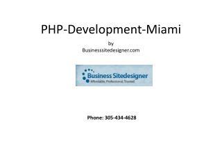 Php development miami