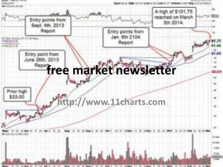 free stock market newsletter