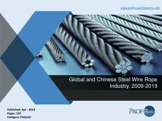 Global and Chinese Steel Wire Rope Industry, 2009-2019