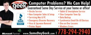 Same Day Geek Services