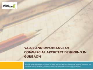 Commercial Architect Designing In Gurgaon, Best Architect In Delhi