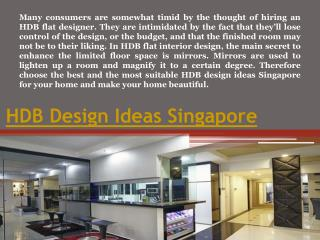 HDB Interior Design Ideas Singapore