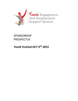 Sponsership Proposal for Youth fest 2015
