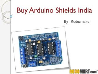 Buy Arduino Shields India by Robomart