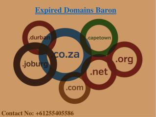 Where to Buy Expired Domains | Expired Domains Baron |  Cheap Expired Domains