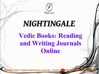 2016 Vedic Books | Literature Books India | Hindu Religious Books - Nightingale
