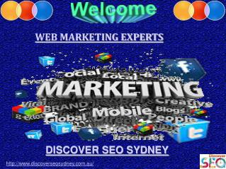 Web Marketing Experts   Discover SEO Sydney