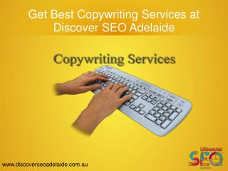 Get Best Copywriting Services at Discover SEO Adelaide