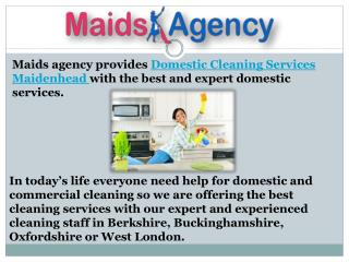 all in one maid service provider in Maidenhead