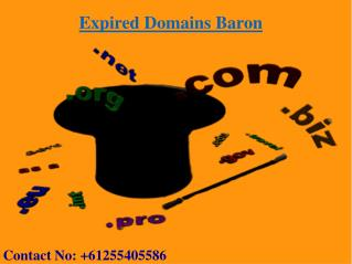 Where to Buy Expired Domains  | Expired Domain Names | Expired Domains Baron