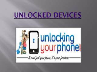 Unlocked Devices