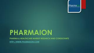 Pharma & Healthcare Market Research Report