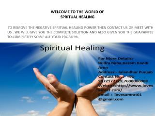 Spritual Healing To Heal Yourself