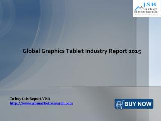 Global Graphics Tablet Industry Report: JSBMarketResearch