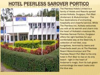 Hotel Peerless Sarover Portico