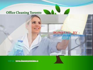 Best Office Cleaning Services in Toronto