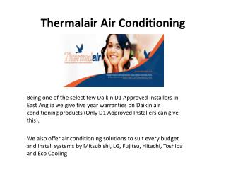 Thermalair Air Conditioning